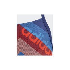 Kostium kąpielowy jednoczęściowy Dziecko adidas  Strój do pływania Lineage. Niebieskie stroje jednoczęściowe dziewczęce Adidas. Za 129,00 zł.