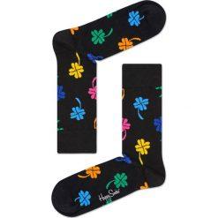 Happy Socks - Skarpetki Big Luck. Czarne skarpetki damskie Happy Socks, z bawełny. Za 39,90 zł.