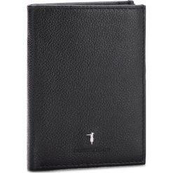 Duży Portfel Męski TRUSSARDI JEANS - Wallet Vertical Coin Pocket Tumbled 71W00002 K299. Czarne portfele męskie marki Trussardi Jeans, z jeansu. W wyprzedaży za 239,00 zł.