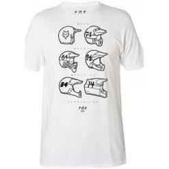 T-shirty męskie z nadrukiem: FOX T-Shirt Męski Evolutionary L Biały