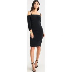 Sukienki hiszpanki: MARCIANO LOS ANGELES CORSET DRESS Sukienka koktajlowa jet black