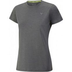 Mizuno Koszulka Treningowa Impulse Core Tee W/Castlerock Melange L. Szare bluzki sportowe damskie marki Mizuno, l, z materiału. W wyprzedaży za 79,00 zł.
