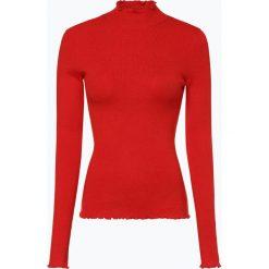 Review - Sweter damski z dodatkiem lnu, czerwony. Czerwone swetry klasyczne damskie Review, m, z dzianiny. Za 159,95 zł.