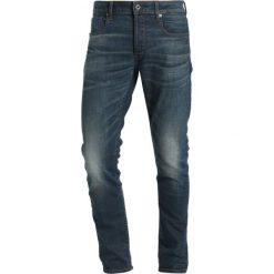 GStar 3301 SLIM Jeansy Slim Fit beln stretch denim. Niebieskie rurki męskie marki G-Star. W wyprzedaży za 475,15 zł.