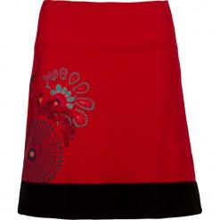 Spódnica w kolorze czerwonym. Czerwone spódniczki Kéawa, s, midi. W wyprzedaży za 51,95 zł.