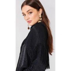 Koszule wiązane damskie: Moves Koszula Nisa – Black