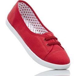 Baleriny bonprix czerwony. Czerwone trampki i tenisówki damskie marki bonprix. Za 44,99 zł.