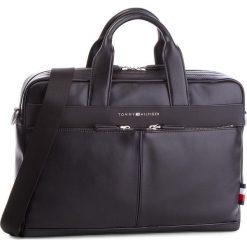 Torba na laptopa TOMMY HILFIGER - Th City Computer Bag AM0AM03586  002. Czarne torby na laptopa marki TOMMY HILFIGER, ze skóry ekologicznej. Za 699,00 zł.