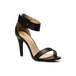 Rzymianki damskie: Czarne Sandały Alice