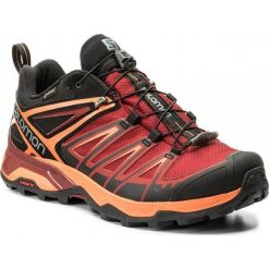 Buty trekkingowe męskie: Salomon Buty męskie X Ultra 3 GTX Black/Red Dalhia r. 42 (398670)