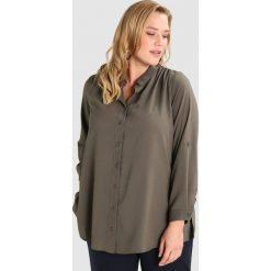 Koszule wiązane damskie: Dorothy Perkins Curve UTILITY Koszula khaki