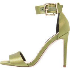 Sandały damskie: Miss Selfridge CORA Sandały na obcasie dark green