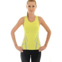 Bluzki asymetryczne: Brubeck Koszulka damska Fitness W bordowa  r. M (TA1015)