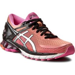 Buty ASICS - Gel-Kinsei 6 T692N Peach melba/Silver/Pink Glow 7693. Czerwone buty do biegania damskie Asics, z materiału. W wyprzedaży za 429,00 zł.