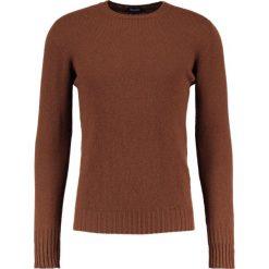 Drumohr Sweter marrone. Brązowe swetry klasyczne męskie marki Drumohr, m, z materiału. W wyprzedaży za 454,50 zł.