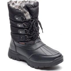 """Buty zimowe damskie: Kozaki """"Isere"""" w kolorze czarnym"""