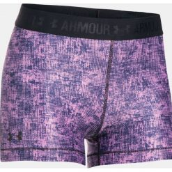 Spodenki sportowe męskie: Under Armour Spodenki damskie HeatGear Armour Printed Shorty różowe r. S (1302777-924)