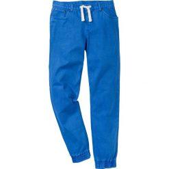 Rurki męskie: Spodnie ze stretchem, bez zamka SLIM FIT STRAIGHT bonprix lazurowy