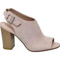 Rzymianki damskie: sandały damskie Graceland różowe