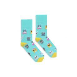 BananaSocks - skarpetki Cat Lover. Niebieskie skarpetki damskie marki Banana socks. Za 27,99 zł.