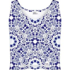 Colour Pleasure Koszulka damska CP-035 6 biało-fioletowa r. XL-XXL. T-shirty damskie Colour pleasure, xl. Za 64,14 zł.