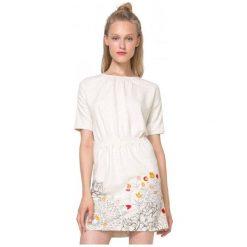 Desigual Sukienka Damska Crudo Xl Kremowy. Białe sukienki marki Desigual, xl. W wyprzedaży za 229,00 zł.