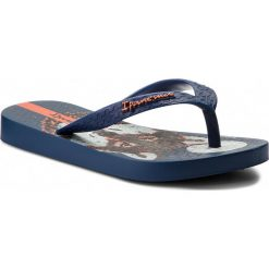 Japonki IPANEMA - Classic VI Kids 82304 Blue/Blue 24523. Niebieskie sandały chłopięce Ipanema, z tworzywa sztucznego. Za 54,99 zł.