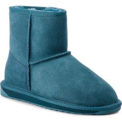 Buty EMU AUSTRALIA - Stinger Mini W10003 Teal. Niebieskie buty zimowe damskie EMU Australia, ze skóry. Za 649,00 zł.