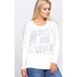 Bluzki damskie: Biała Bluzka Sweet And Lovely