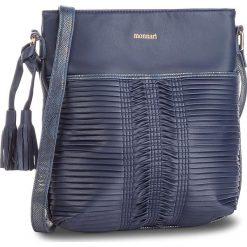 Torebka MONNARI - BAGA370-013  Navy. Niebieskie torebki klasyczne damskie Monnari, ze skóry ekologicznej. W wyprzedaży za 139,00 zł.