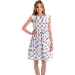 Sukienki hiszpanki: Sukienka - 88-M11977 BIA