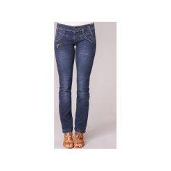 Jeansy straight leg Freeman T.Porter  AMELIE STRETCH DENIM. Niebieskie jeansy damskie marki Freeman T. Porter. Za 351,20 zł.