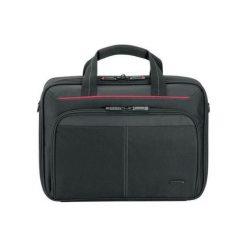 "TARGUS Torba na laptopa CN313  Classic 12-13,4"" BLACK. Czarne torby na laptopa Targus, w paski, z poliesteru. Za 60,86 zł."