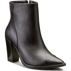 Buty zimowe damskie: Botki MACCIONI - 450 Czarny