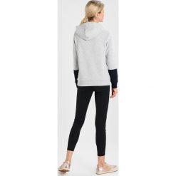Bluzy damskie: Armani Exchange Bluza z kapturem heather grey