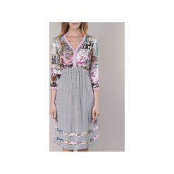 Sukienki krótkie Cream  ZAIROCE. Szare sukienki hiszpanki Cream, z krótkim rękawem, mini. Za 279,30 zł.