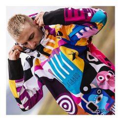 Pablo męska bluza z apreturą hydrofobową. Czarne bluzy męskie rozpinane marki Pakamera, m, z dresówki, z kapturem. Za 369,00 zł.