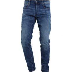 GStar 3301 SLIM Jeansy Slim Fit elto superstretch. Niebieskie jeansy męskie relaxed fit G-Star. Za 469,00 zł.
