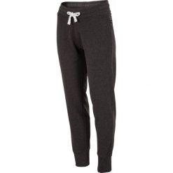 Spodnie dresowe damskie: Spodnie dresowe damskie SPDD301z - ciemny szary melanż