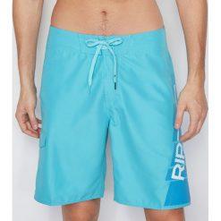 Boardshorty SHOCK GAMES BOARDSHORT 21. Niebieskie kąpielówki męskie marki Rip Curl, z materiału. Za 126,00 zł.