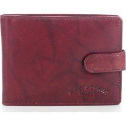 Portfele męskie: DARIEL Elegancki skórzany portfel męski Bag Street w pudełku Brązowy