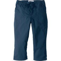 Odzież chłopięca: Spodnie z elastycznym paskiem, mocne i szybko schnące bonprix ciemnoniebieski