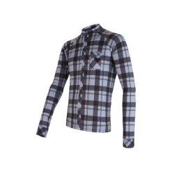Sensor Koszulka Rowerowa W Kratę Black/Gray  L. Niebieskie odzież rowerowa męska marki Oakley, na lato, z bawełny, eleganckie. W wyprzedaży za 229,00 zł.