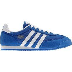 Buciki niemowlęce chłopięce: Adidas Buty juniorskie sportowe Dragon J D67715 niebieskie r. 38 2/3