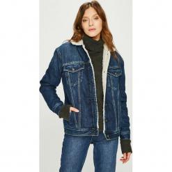 Pepe Jeans - Kurtka Scarlette. Szare kurtki damskie jeansowe Pepe Jeans, l. Za 599,90 zł.