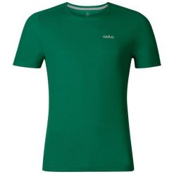 Odlo Koszulka męska T-shirt s/s crew neck GEORGE r. L (200842). Zielone koszulki sportowe męskie Odlo, l. Za 52,36 zł.