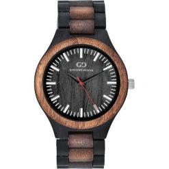 Zegarek Giacomo Design Drewniany męski  GD08302. Czarne zegarki męskie Giacomo Design. Za 385,00 zł.
