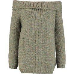 Swetry klasyczne damskie: Isla Ibiza Bonita Sweter mix army