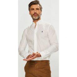 Polo Ralph Lauren - Koszula. Szare koszule męskie Polo Ralph Lauren, l, z bawełny, button down, z długim rękawem. Za 429,90 zł.