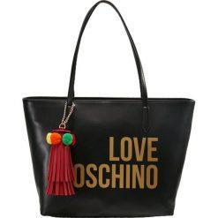 Shopper bag damskie: Love Moschino LOVE POM POM SHOPPER Torebka nero